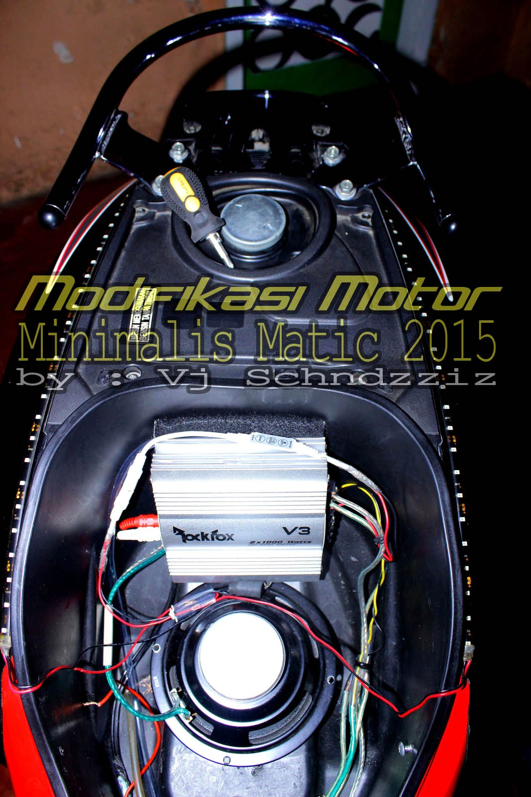 New Modfifikasi Motor Matic Terbaru Honda Scoopy FI