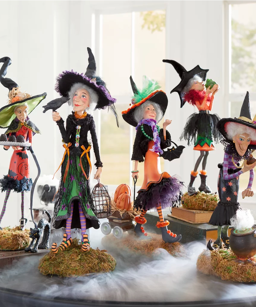 GRANDIN ROAD  Bewitching Figures