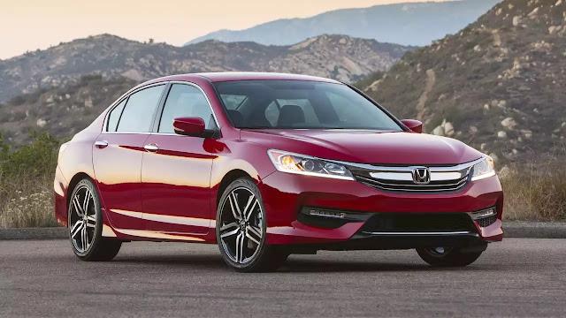 Honda Accord convocado para recall devido à sensor de bateria - Recall