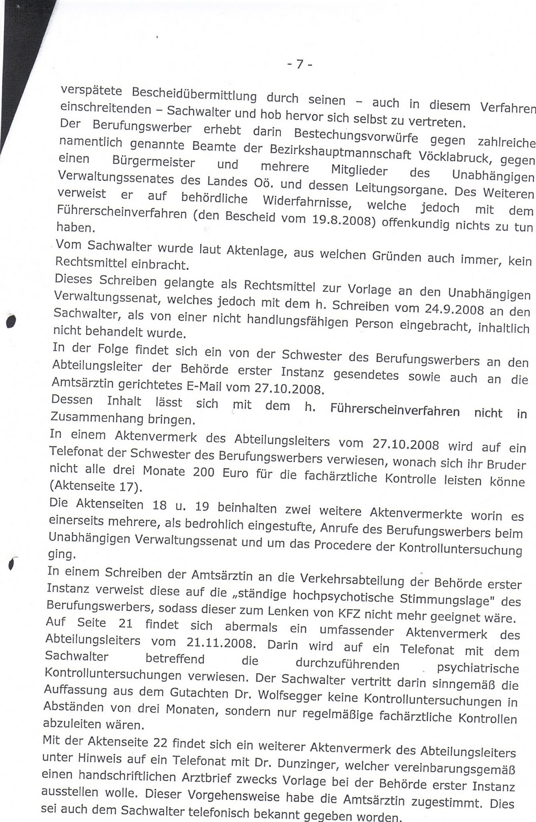 Rechtsbetrug, Amtshaftungen, strafgesetzwidrige Amtshandlungen ...
