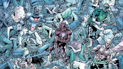 """Reseña de """"JLA: Liga de la Justicia de América - El Poder y la Gloria"""" de Bryan Hitch - ECC Ediciones"""