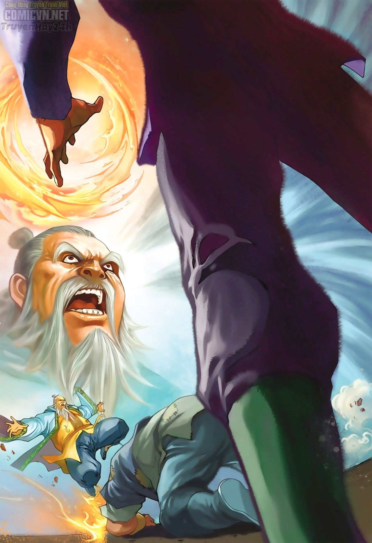 Anh Hùng Xạ Điêu anh hùng xạ đêu chap 67: quyết chiến hiên viên đài trang 32