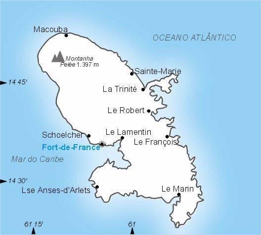Martinica, Departamento Ultramarino da França