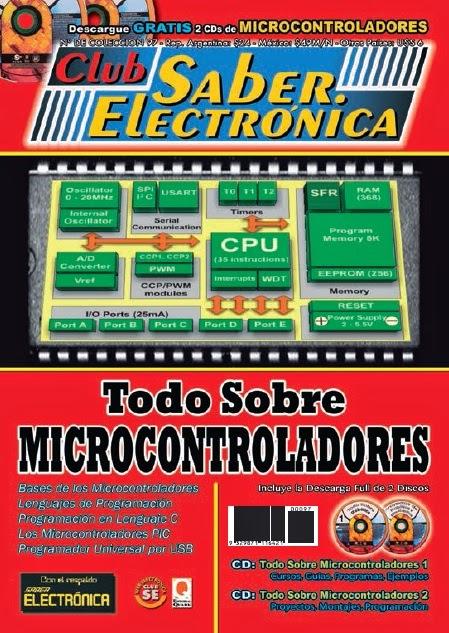 Club Saber Electrónica – Todo sobre microcontroladores