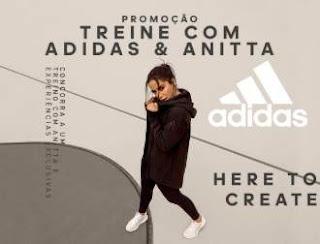 Cadastrar Promoção Treine Com Adidas e Anitta Concorra Kits