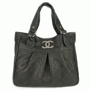 Black CHANEL CC Tote Bag no replicas
