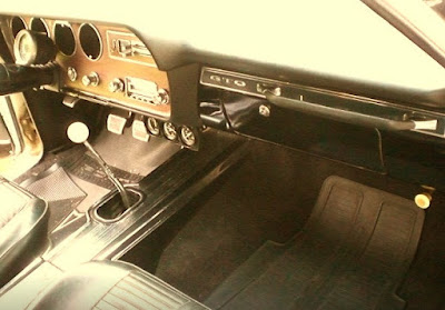 1966 Pontiac GTO Hardtop Coupe Interior Dashboard