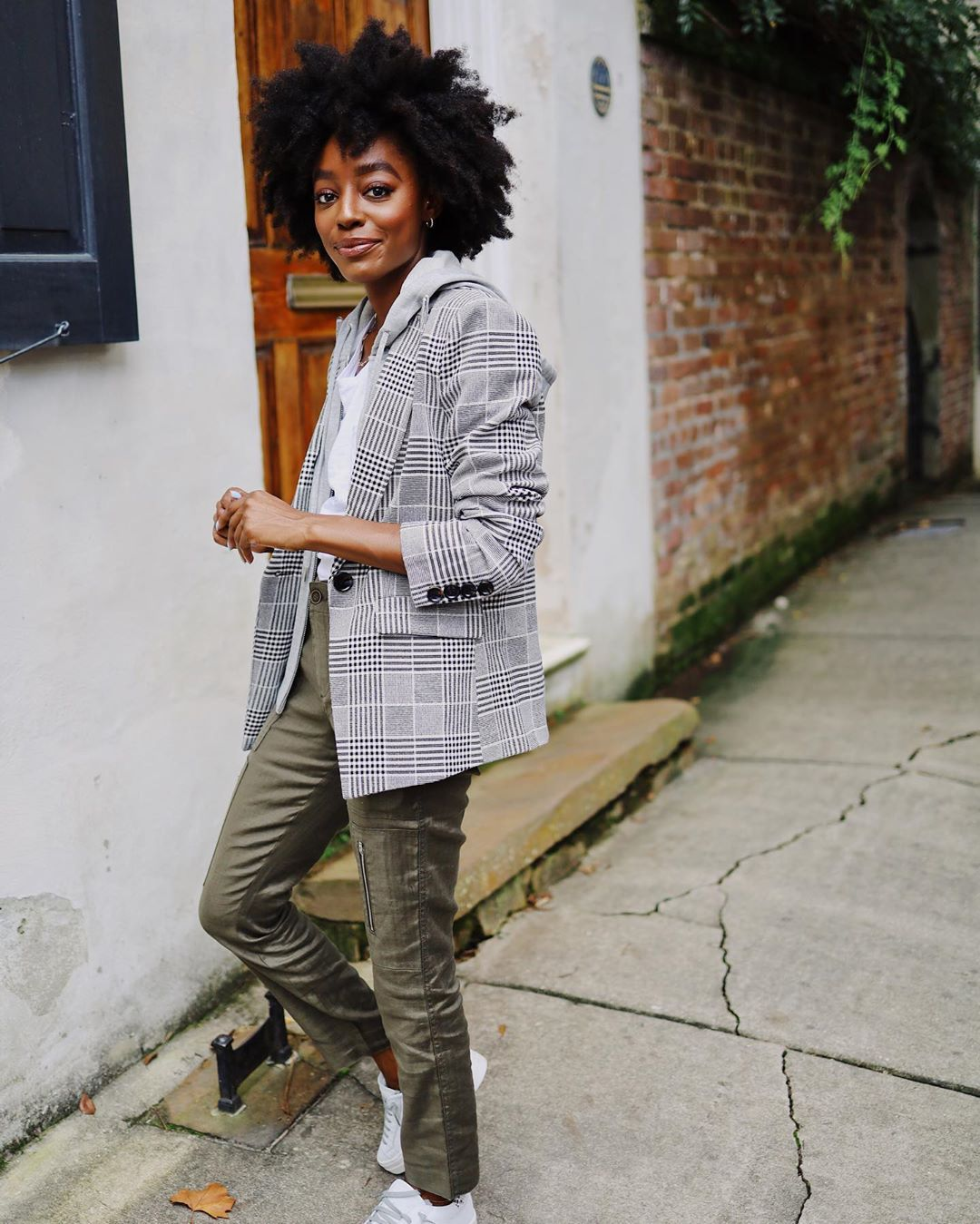 A Plaid Blazer is a Fall Style Essential