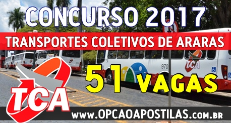 Apostila Concurso TCA Araras 2017