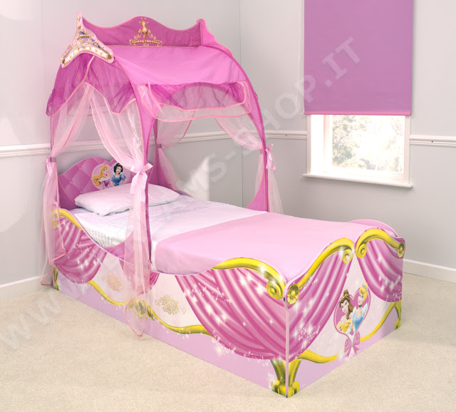 Fotos de camas infantiles originales y divertidas ideas - Camas infantiles de princesas ...