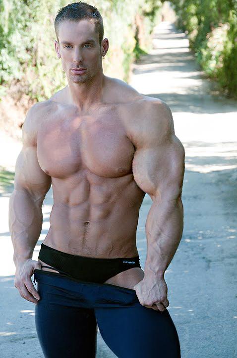 Big hot muscle men