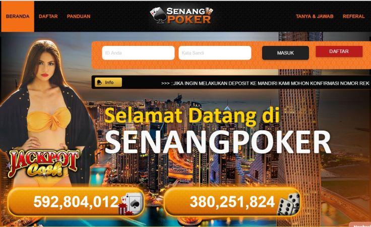 Agen Poker Online Indonesia Terpercaya dan Domino QQ | Senangpoker