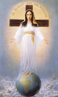 Cuadro de la Señora de todos los Pueblos - María Corredentora, Medianera y Abogada