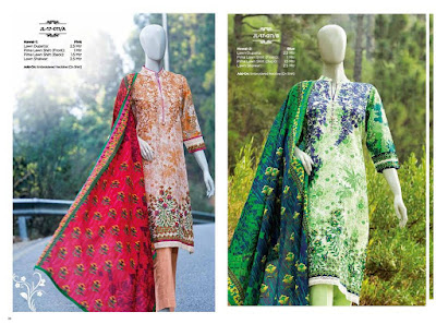 J. Junaid Jamshed Spring Summer Lawn Collection 2017 Full Catalog