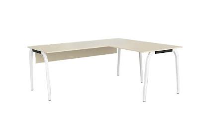 bürosit,burosit,l masa,ofis masası,çalışma masası,operasyonel masa,metal ayaklı