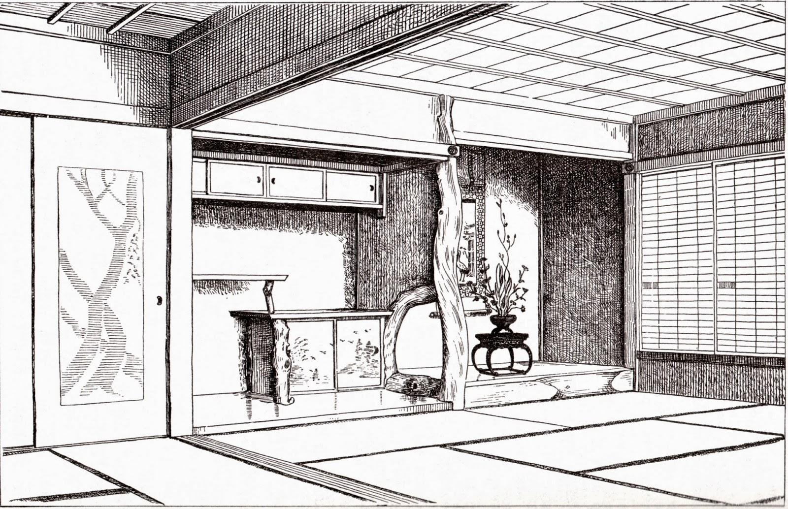 maison japonaise traditionnelle plan