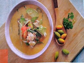 Gambar Resep Lodeh Daging Sapi Pedas