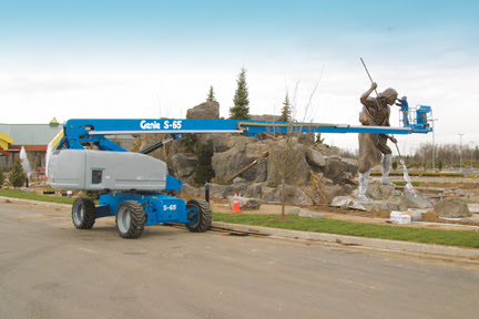 Range of used boom lifts – Articulated boom lifts are utilized in business and building