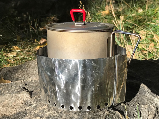 Windscreen for the Supercat Alcohol Stove