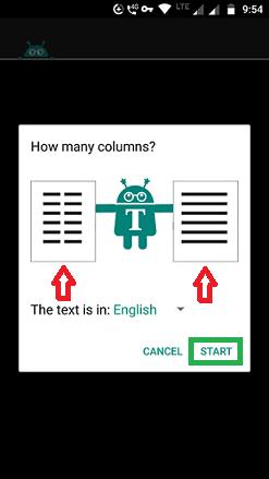 single or double column