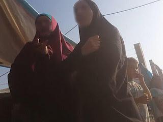1400 İŞİD-çi arvadı əsir düşdü