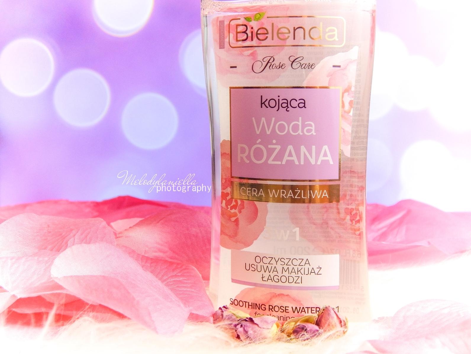 12 Bielenda rose care różany krem do twarzy recenzja kojąca woda różana 3w1 olejek różany do mycia twarzy produkty bielenda seria różana melodylaniella test produktów kosmetycznych ciekawe blogi lifestyle