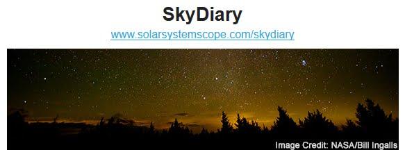 La nuova sezione SkyDiary