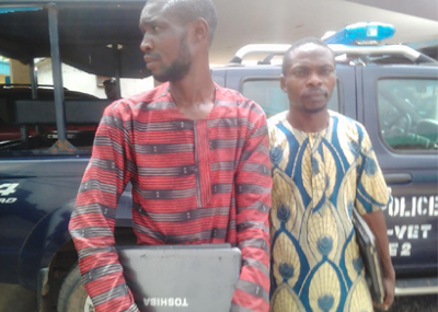 2 Nabbed For Printing Fake INEC Voters' Cards