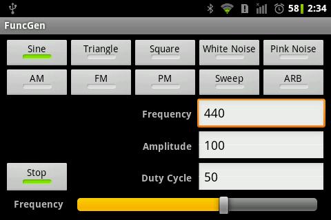 Fm signal generator android