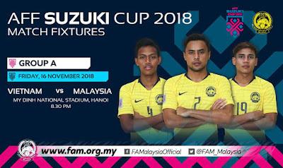 Vietnam vs Malaysia AFF Suzuki 2018