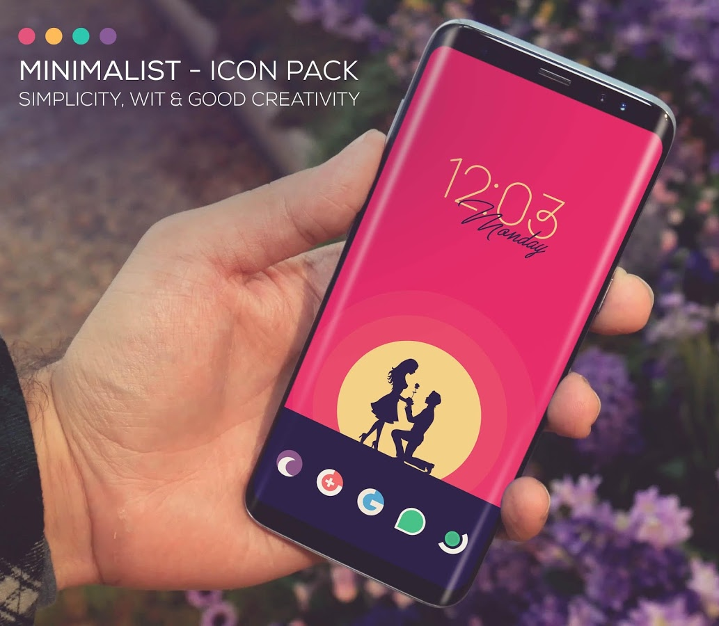 Minimal icon pack apk download : Neo coin app launcher
