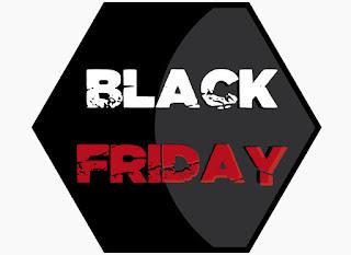 Sticker autocollant Black Friday pour vitrine