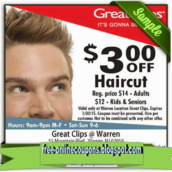 Great clips hair coupon : Online Discounts