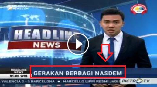 Merubah Berita Semaunya, Metro TV Menuai Kecaman