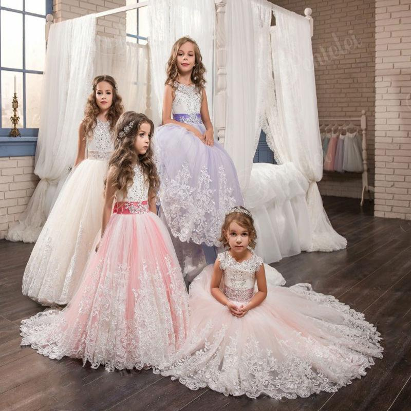 d255544cf204 But flower girl dresses are not just limited to wedding parties. A special  occasion lace flower girl dress with a bow can be a great birthday dress.