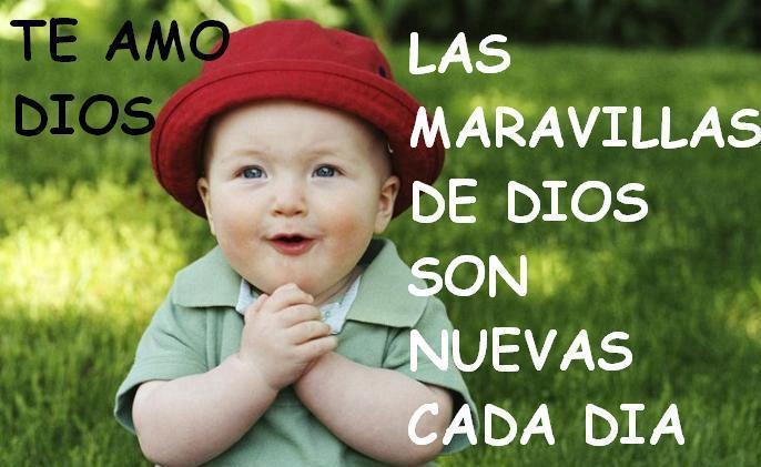 Imagenes De Bebes Con Frases De Amor: Imagen Cristiana De Animo
