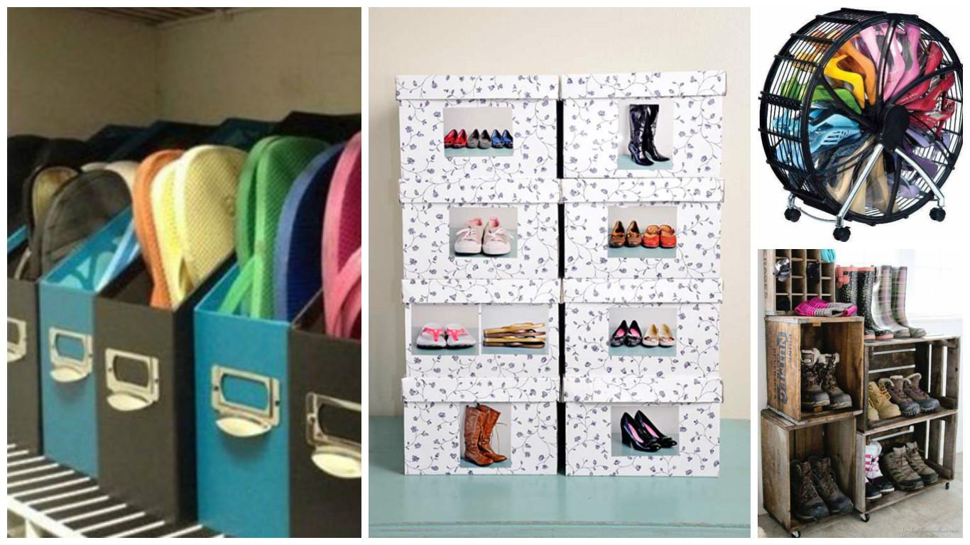 Como ordenar los zapatos stunning consejos ideas para - Como guardar zapatos ...