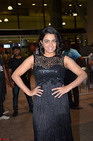 Wamiqa Gabbi in a sleeveless Black Designer Transparent Gown at 64th Jio Filmfare Awards South ~  Exclusive 069.JPG