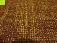 Fläche: Jute-Yogamatte »Sampati Jute« / High Quality Matte aus hochwertigen Jutefasern und ECO-PVC. Atmungsaktiv, schadstofffrei und sehr robust. Ideal für häufige Yogaübungen. Maße: 183 x 61 x 0,5cm, in verschiedenen Farben erhältlich