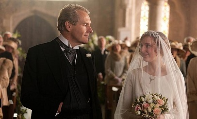 Lady Edith and Sir Anthony Strallan