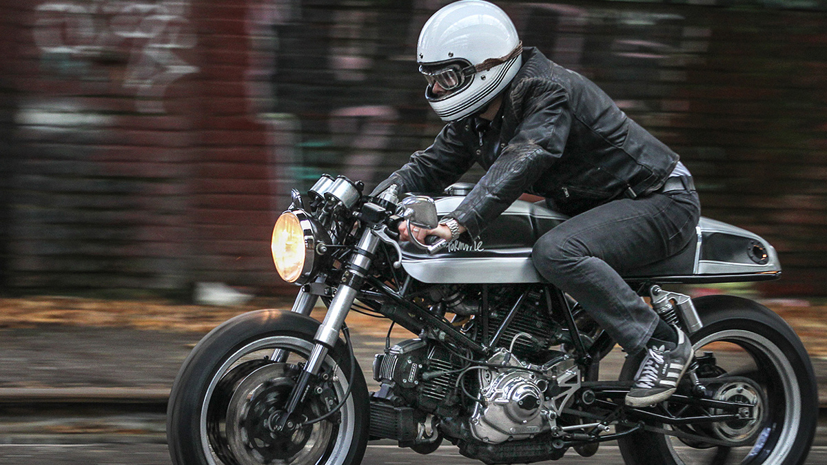 wheels of fortune - wimoto ducati 900ss | return of the cafe racers