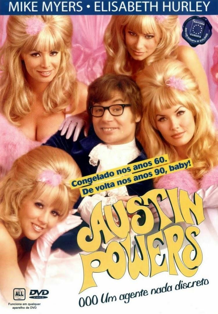 Austin Powers: 000 – Um Agente Nada Discreto – Dublado (1997)