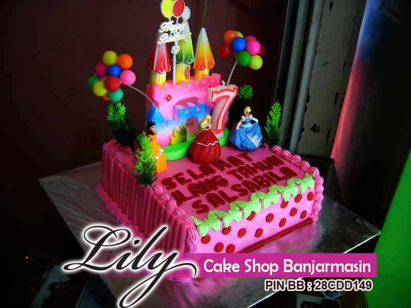 Lily Cake Shop Banjarmasin Kue Ultah Tema Princess