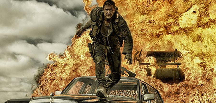 Tom Hardy în rolul Max Rockatansky din Mad Max: Fury Road