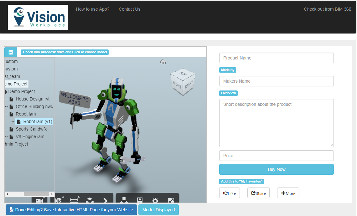 Revit Add Ons Free Interactive Website Design Embed 3d