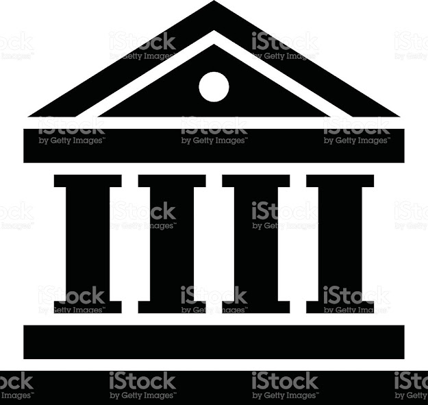 Bank Vector Icon Royaltyfree Stock Vector Art