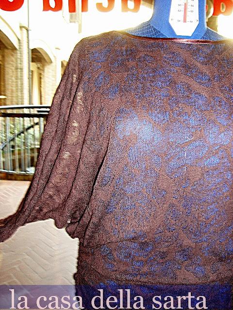 la casa della sarta modello maglia