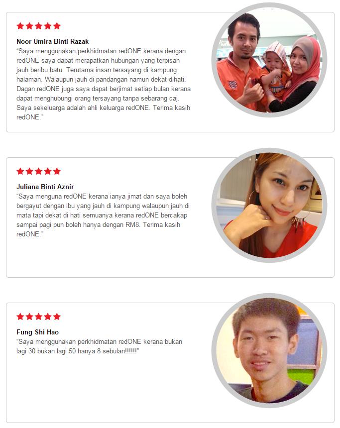 Testimoni Pelanggan ~ Redone Postpaid Termurah, Jimat dan Terbaik
