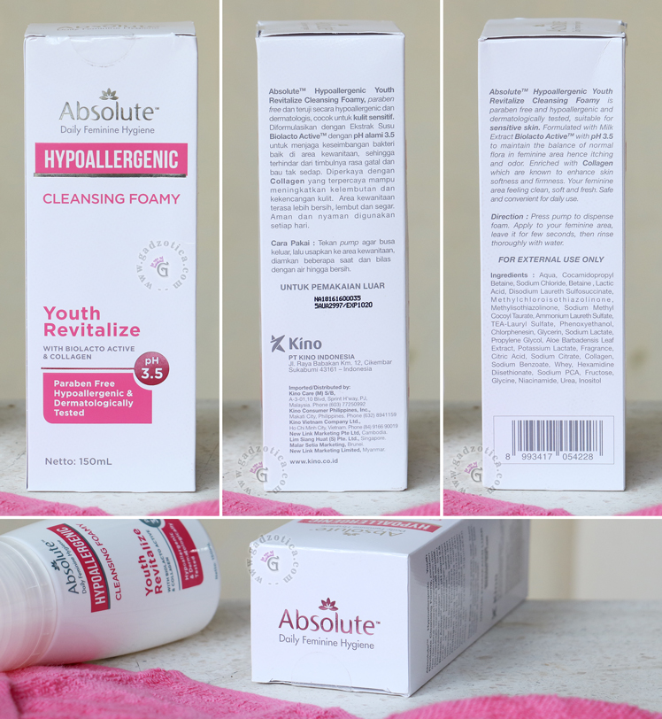Absolute Hypoallergenic Cleansing Foamy Revitalize
