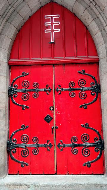 Червоні двері.Нью-йорк (Red door. NYC)